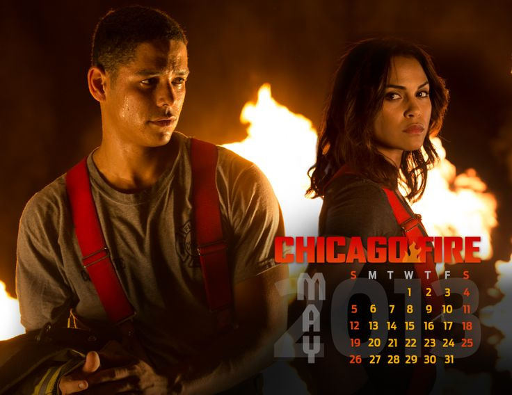 Your votes are in. Here's the official May #ChicagoFire calendar!