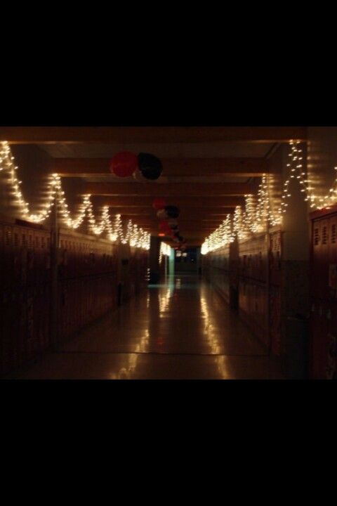 Homecoming hallway
