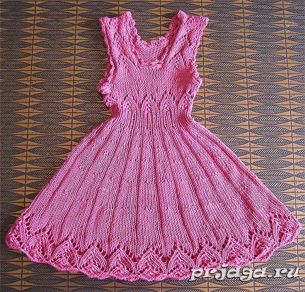 вязаные платья с открытыми плечами схемы