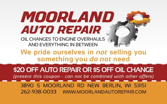 oil change coupons waterloo iowa