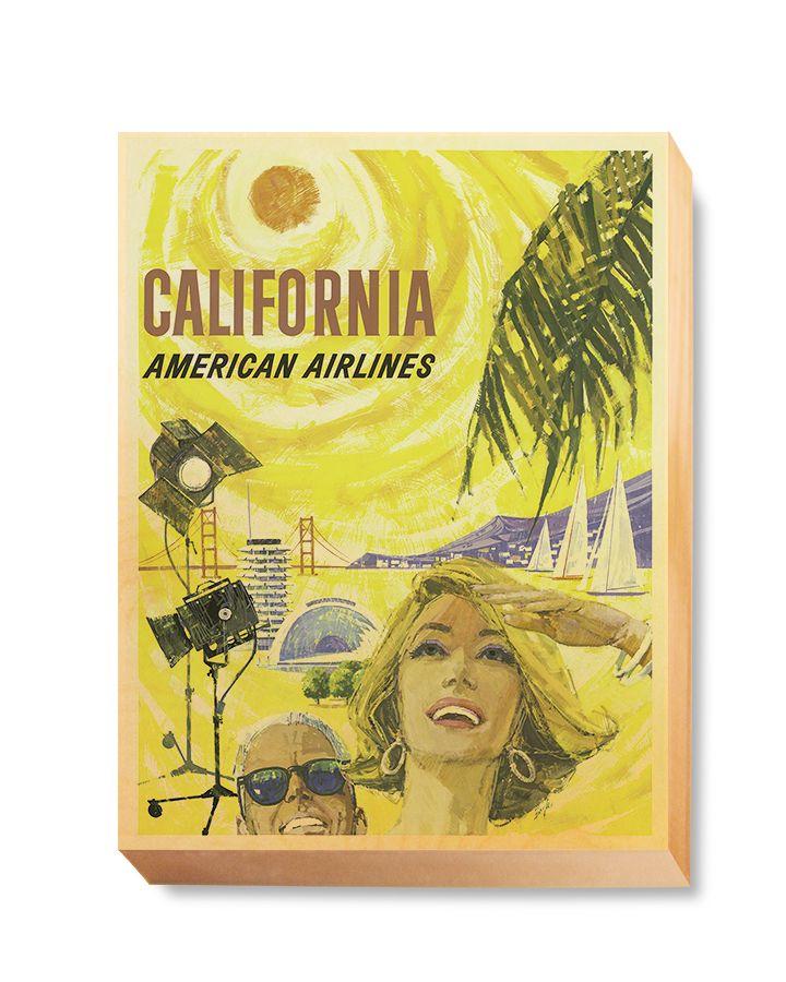 TRV 054 Travel Art California American