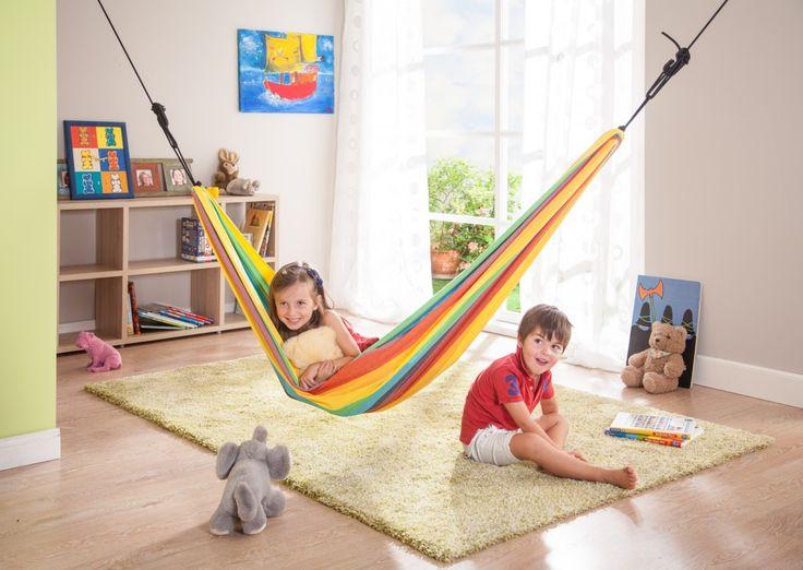 Detská hojdacia sieť Iri rainbow, 80 kg