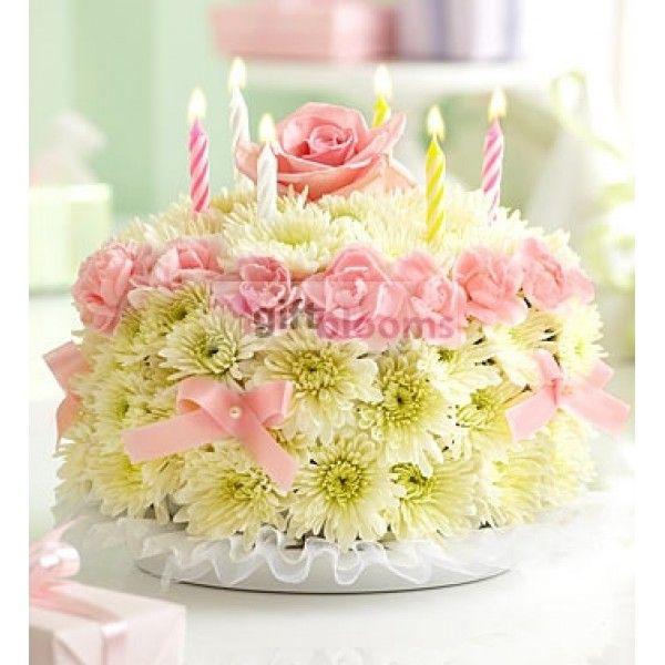 A420afa64839a5633abeb1769d4f9881 Flower Birthday Cakes