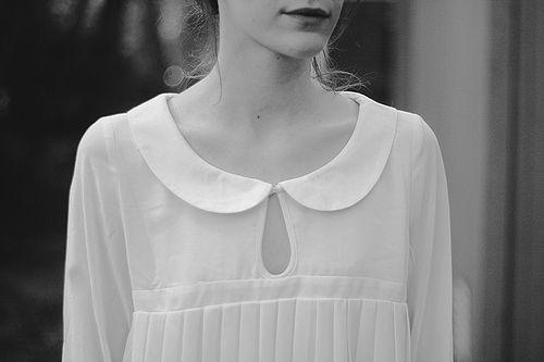 C: White Collars, Peter O'Toole, Collars Fashion Kil, Fashion Style, White Fashion, White Shirts, Peter Pan Collars, Peterpan, Summer Clothing