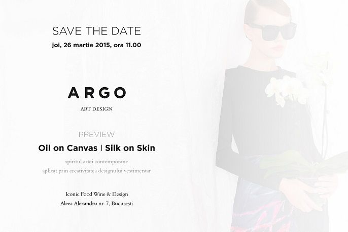 Save the date 26 martie Argo morning