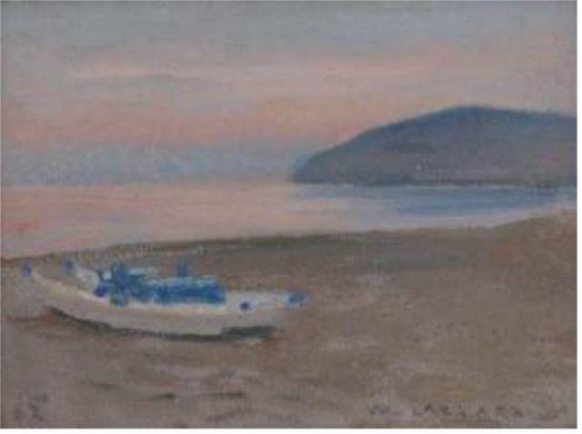 Bocca di Magra - Walter Lazzaro-A pintura dos silêncios