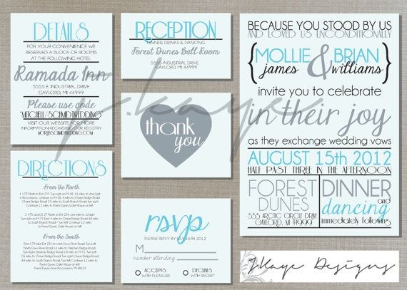 DIY Rustic Wedding Invitations | DIY Printable Wedding Invitation Modern Rustic