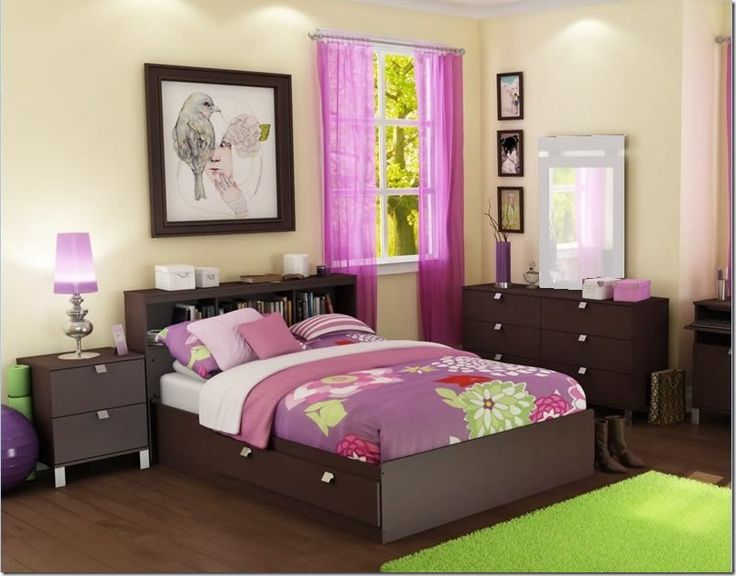 25 best ideas about young woman bedroom on pinterest women room white fluffy rug and a young - Ways To Decorate A Bedroom