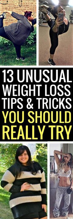 13 crazy but easy ways to lose weight fast.