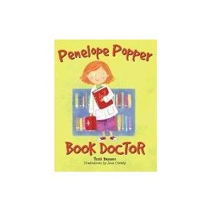 Penelope Popper, Book Doctor - Penelope desperately wants to be a doctor, obtaining everything she needs but the patients, and Ms. Brisco, the librarian, teaches Penelope how to mend old books in need of care.
