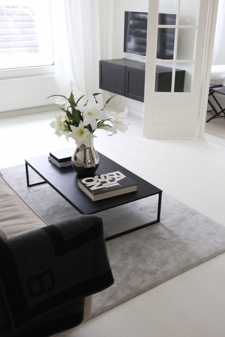 Homevialaura   modern classic living room decor   VM Carpet Hattara   grey rug   Bo Concept Lugo   Georg Jensen Cafu