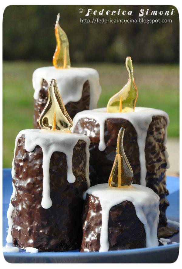 La cucina di Federica: Candele dolci di Natale