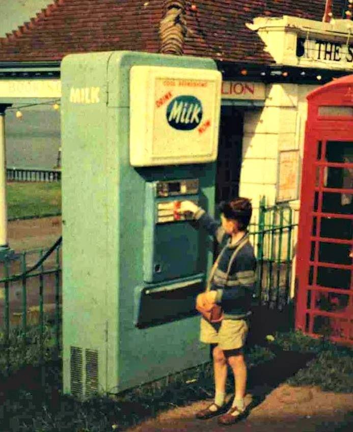 Britain's Milk Vending Machines