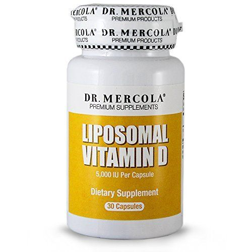 Dr Mercola Liposomal Vitamin D  30 Capsules  Essential For Heart Health And Joint Health  5000 IU Per Capsule * Read more at the affiliate link Amazon.com on image.