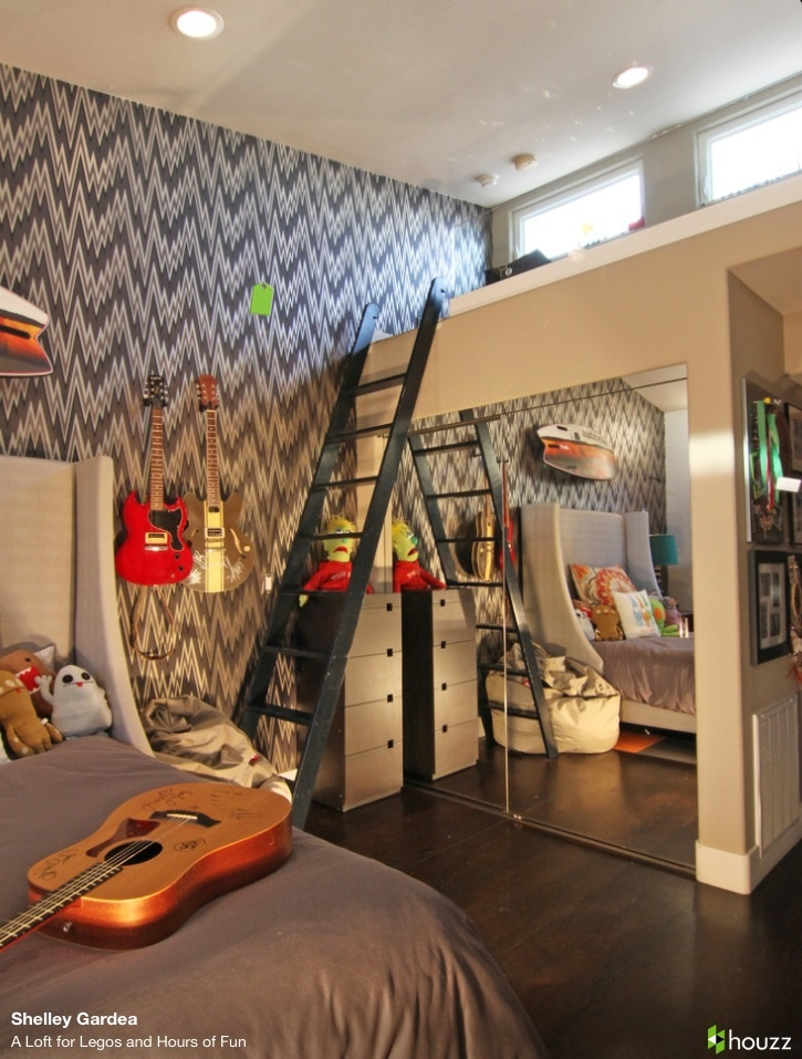 Teen Room A Loft For Legos And Hours Of Fun   Eclectic   Kids   San Diego    Shelley Gardea
