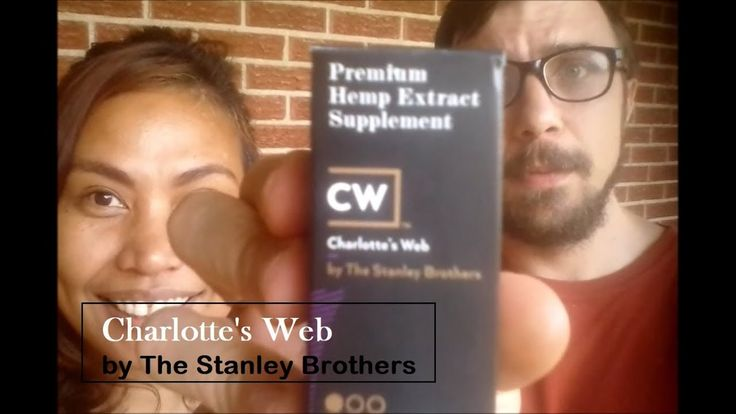 Charlotte's Web by The Stanley Brothers CBD Hemp Oil