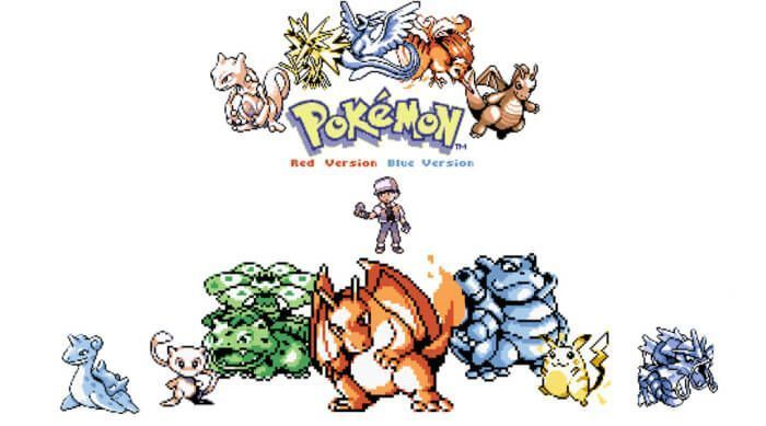 Pokemon Red Blue Yellow 3DS Version