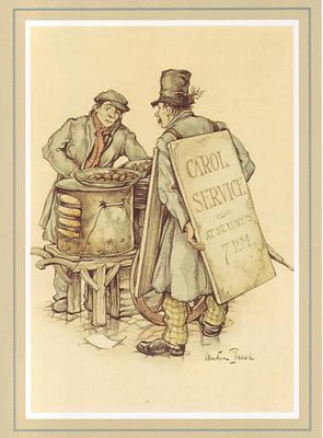 The Chesnut Seller (*)