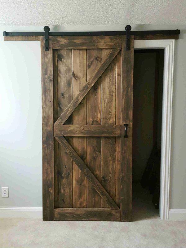 Have A Look At This Fantastic Masonite Interior Barn Doors What An Imaginative Concept Mason Rustic Barn Door Barn Doors Sliding Interior Sliding Barn Doors