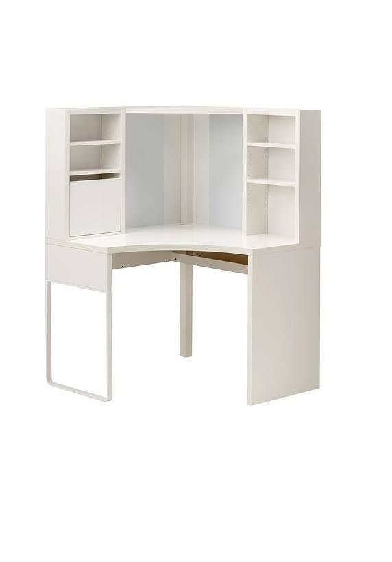 25 beste idee n over hoek computer bureau op pinterest kleine hoekbureau kleine bureaus en - Kleine ijdelheid ...