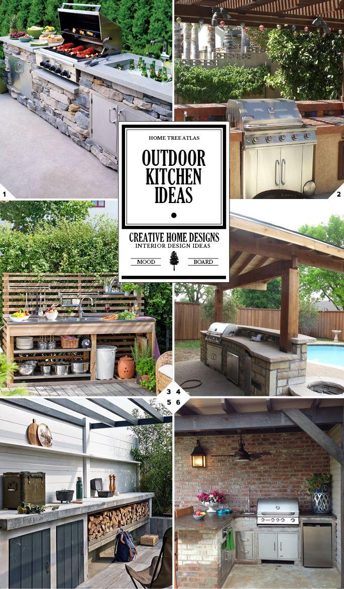Design Your Space Outdoor Kitchen Ideas