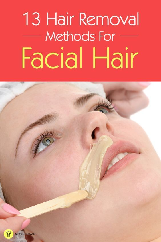 Cute Removing facial hair can be quite painful since the hair is removed from the roots Here are some mon facial hair removal methods for you