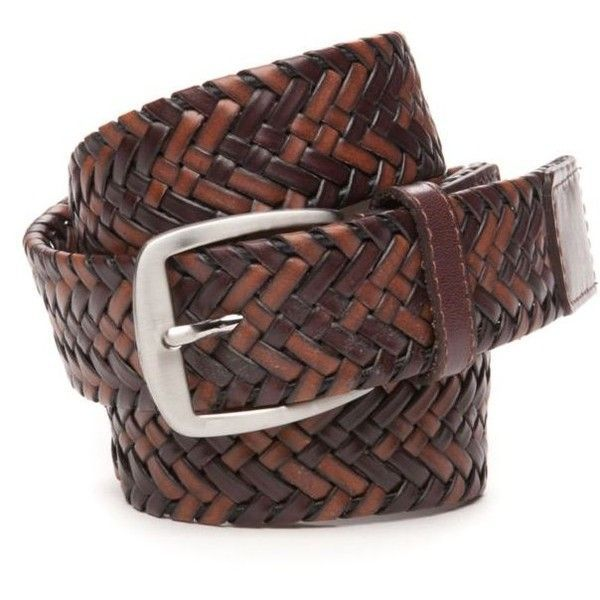 Tommy Bahama Brown Tubular Braid Leather Belt - Male ($48) ❤ liked on Polyvore featuring men's fashion, men's accessories, men's belts and brown Check out our Collection of Belts...
