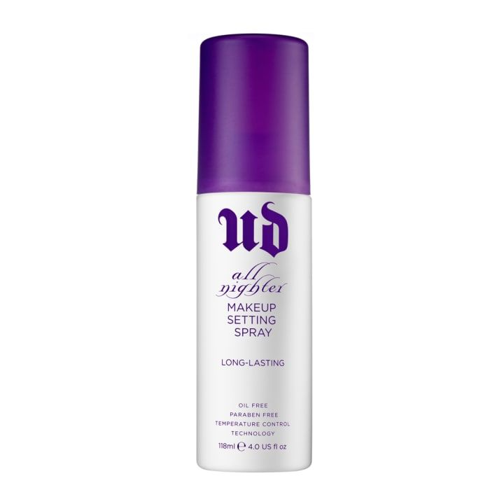 'Urban Decay Makeup Setting Spray! My face gets super oily when I go out because of how dehydrated I get, but this stuff is magic. My makeup looks perfect, even after 5 hours of non-stop dancing.'– Ashley Roddy, Facebook'Urban Decay's Makeup Setting Spray is a godsend. No more runny eyeliner/mascara after a long day and/or night out. It's seriously the best.– Fia Torres, Facebook'Urban Decay Makeup Setting Spray. Will make even the worst foundations stay all day. Especially for oily skin!'–…