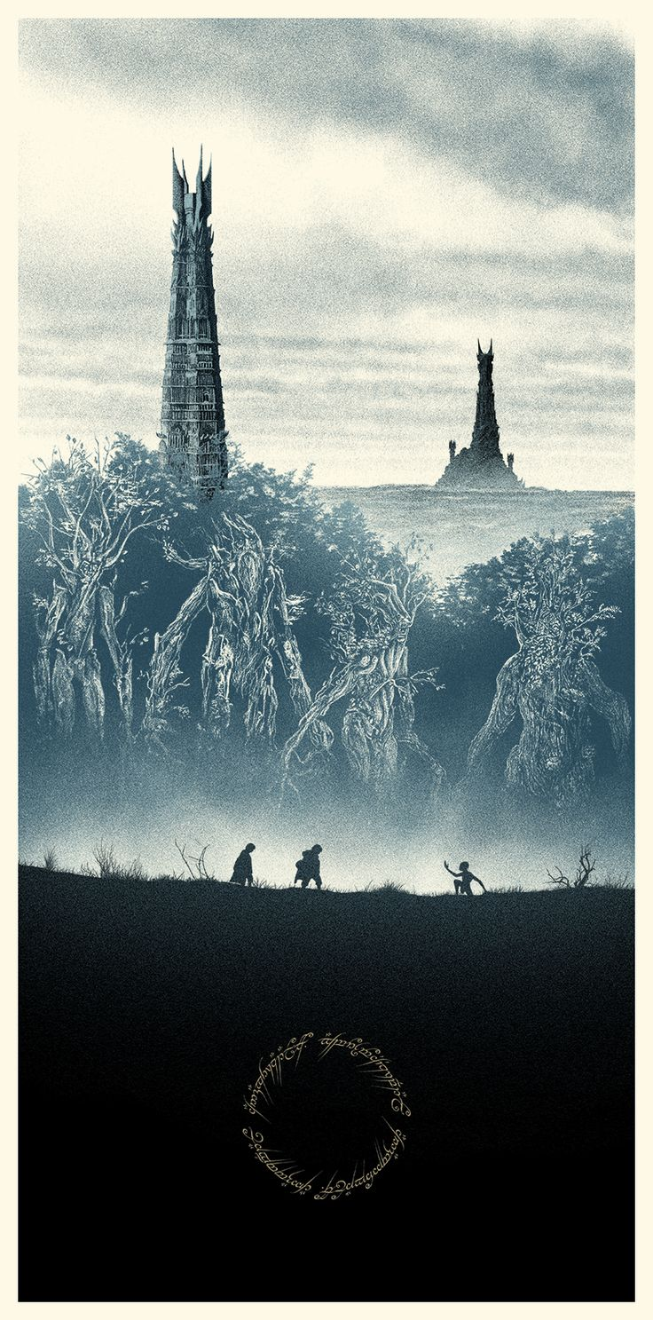 LOTR The Two Towers poster