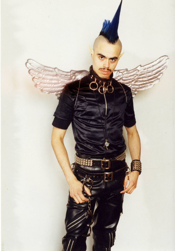 """Andre """"Angel"""" Melendez, murdered by Michael Alig on 17 March 1996, age 24"""