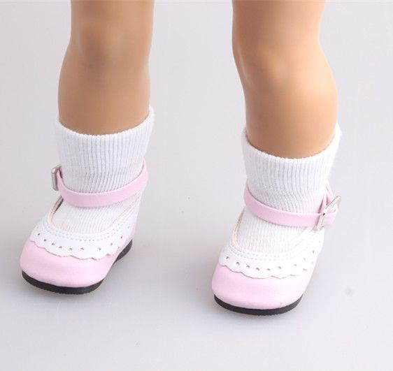 "Free shipping!!!Hot new style popular 2016yards ""American girl doll  socks 1239"