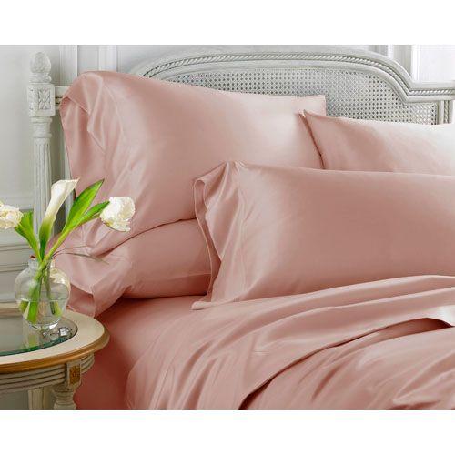 Whispersilk Rose Queen Sheet Set Scent Sation, Inc. Sheet Set Bed Sheets Bedding 60$