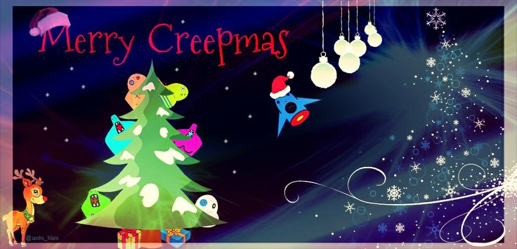 The @Bartholomew Cubbins creepy creatures seem to be ready for Creepmas. :) @CREEPS By Cubbins