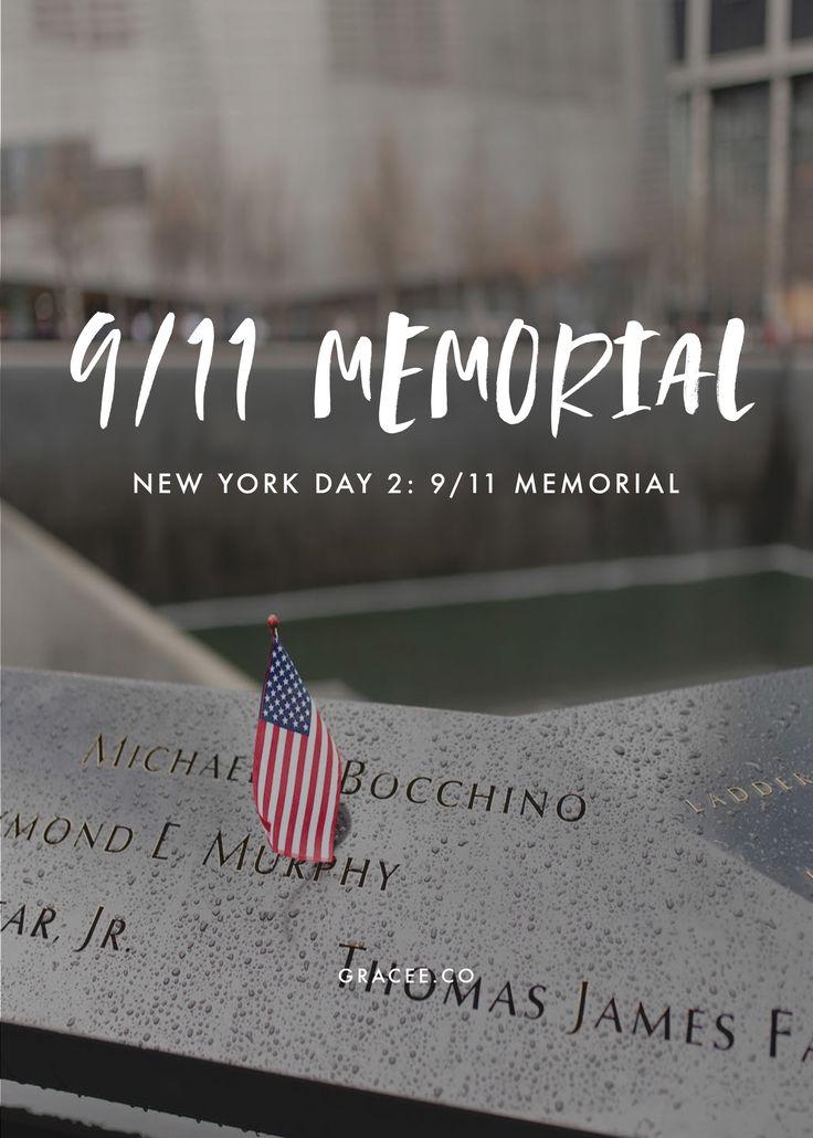 New York Day 2: 9/11 Memorial https://www.gracee.co/new-york-day-2-911-memorial/