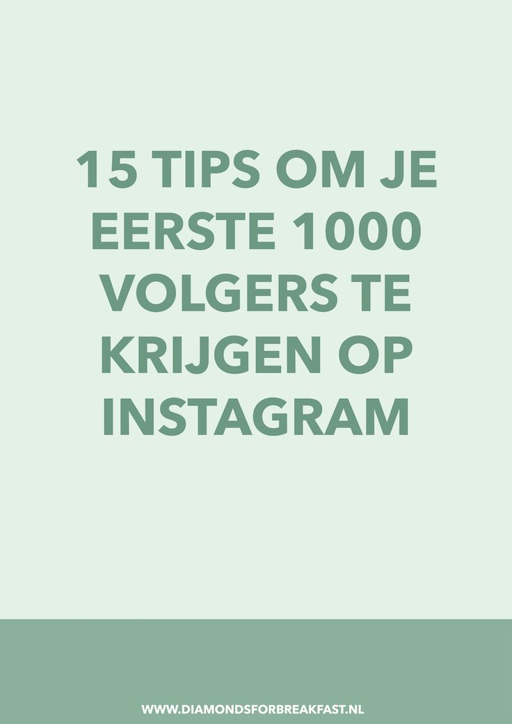 Wil je graag meer volgers op Instagram? In dit artikel lees je hoe ik in korte tijd 1000 volgers haalde op Instagram.