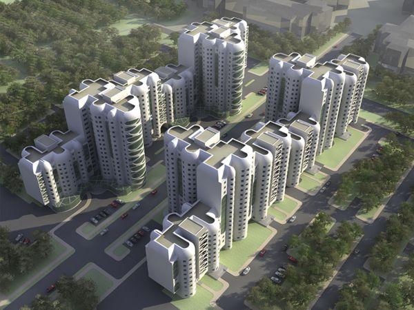 best микрорайон images presentation social  Многоэтажный жилой дом by anna fil via behance