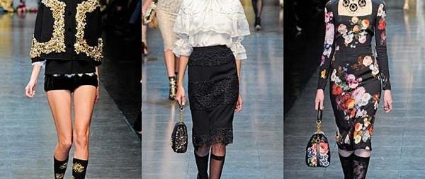 Dolce & Gabbana – Opulent Womens Lace Fashion 2013 ~ Arabs Cool Costumes