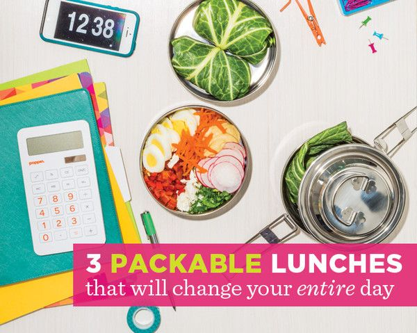 Packable lunches