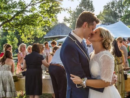Food Network Star winner Damaris Phillips shares the details of her big day — a DIY celebration in the heart of Kentucky.