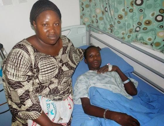 GOSSIP, GISTS, EVERYTHING UNLIMITED: Accident Victim at St Nicholas Hospital Reunites W...