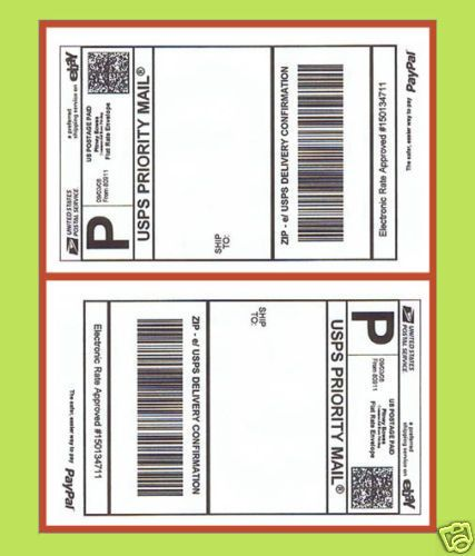 150-WH-Self-Adhesive-Mailing-Shipping-Label-Sticker-for-Ebay-USPS-Click-N-Ship