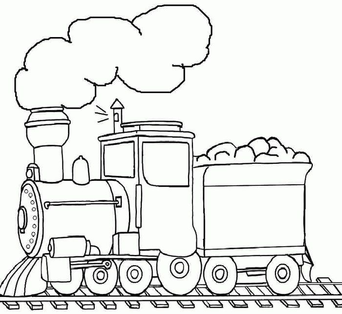 Coloring Pages Train Train Coloring Pages Preschool Coloring Pages Coloring Pages For Boys