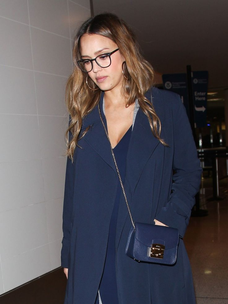 Jessica Alba's Best Pregnancy Hair Moments, From Signature Beach Waves to Easy Updos