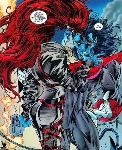 Mystique and Nightcrawler Happy Mother's Day | Marvel ...