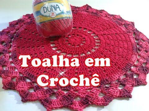 Souplast Natalina em Crochê - YouTube