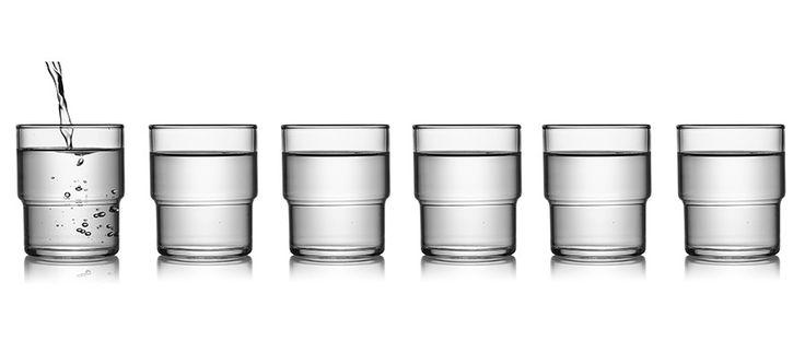 Japanese Stackable Glasses (Set of 6) - Kaufmann Mercantile