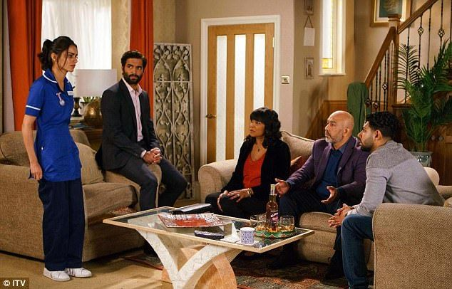 Coronation Street: Zeedan forces Rana to tell her parents  Its the Coronation Street plot that has been lauded and discussed at length by fans of the ITV soap.  And things are about to take a new turn in the storyline that has seen Rana Nazir fall forKate Connor and cheat on her husband Zeedan behind his back.  With the cat now out of the bag to Zeedan its unsurprising that he turned to drink to numb the pain of his unexpected situation. But in forthcoming scenes the disgruntled husband…