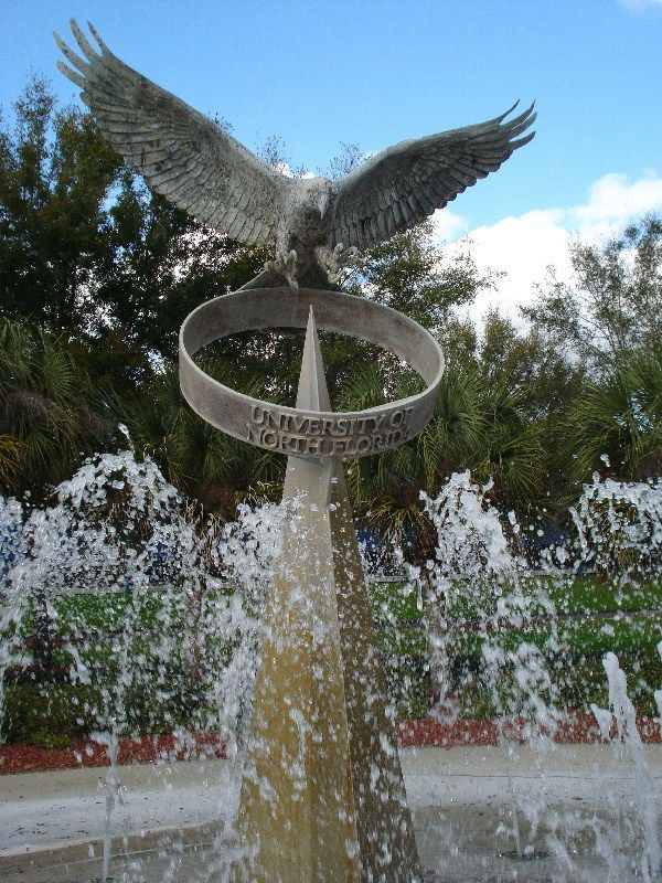 The University of North Florida, located in Jacksonville, Florida, USA, is the Home of the Ospreys. by Marine Biologist