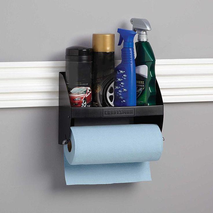 Craftsman - 31930 - Hooktite™ Paper Towel Holder for VersaTrack Trackwall | Sears Outlet