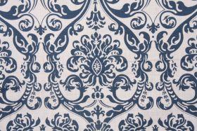 Damask Prints :: Premier Prints Abigail - Drew Drapery Fabric in Navy $9.98 per yard - Fabric Guru.com: Fabric, Discount Fabric, Upholstery ...